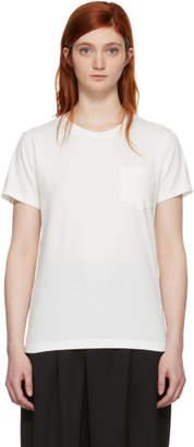 Blue Blue Japan White Pocket T-Shirt