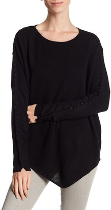 In Cashmere Asymmetrical Cashmere Sweater $374 thestylecure.com