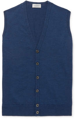 John Smedley Slim-Fit Merino Wool Sweater Vest