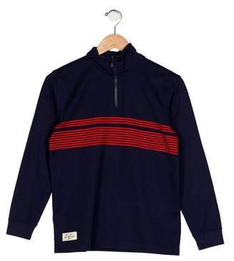 Brooks Brothers Boys' Striped Knit Sweater