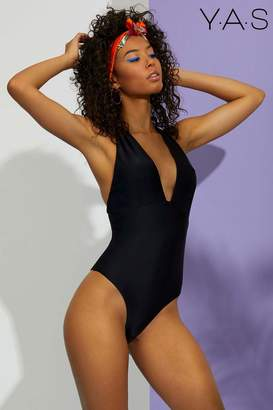 Next Womens Y.A.S. Low Back Swimsuit