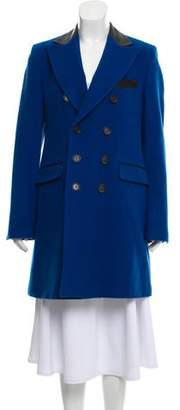 Each X Other Peaked-Lapel Double-Breasted Coat