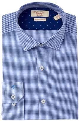 Original Penguin Heritage Slim Fit Patterned Dress Shirt