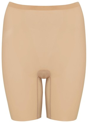 Wolford Almond Stretch-tulle Control Shorts
