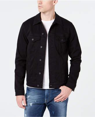 Lucky Brand Men Black Denim Jacket