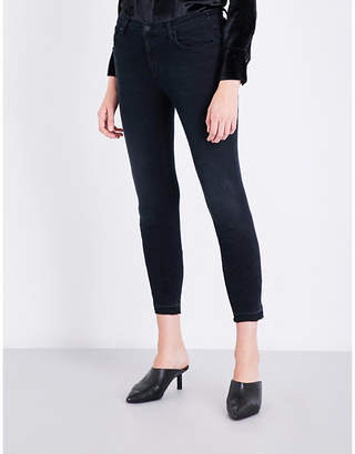 J Brand 835 skinny cropped mid-rise jeans