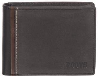 Roots North Slim Bi-Fold Leather Wallet