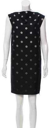 Lanvin Polka Dot Shift Dress