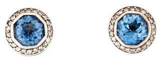 John Hardy Topaz & Diamond Jaisalmer Stud Earrings