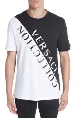 Versace Angled Logo T-Shirt