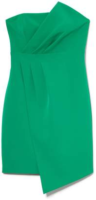 Vince Camuto Pleat-Detail Strapless Dress