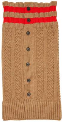Jil Sander Wool Collar
