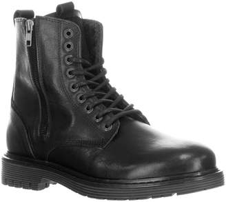 Pajar Rocky Waterproof Faux Shearling-Lined Leather Boots