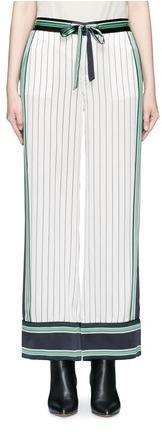 EquipmentEquipment x Kate Moss 'Lake' stripe print silk pyjama pants