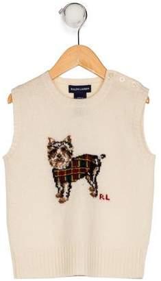Ralph Lauren Boys' Wool Sweater Vest