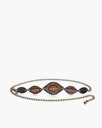 Chico's Chicos Merlot Chain Belt