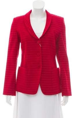 Armani Collezioni Tweed Shawl Collar Blazer w/ Tags