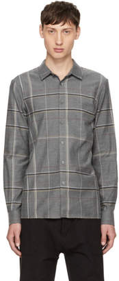 Stephan Schneider Grey Plaid Minute Shirt