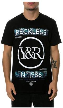 Young & Reckless Mens The No Lackin Oil Graphic T-Shirt S