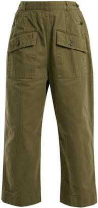Chimala Patch-pocket cotton trousers