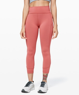 "Lululemon In Movement Tight 25"" *Everlux"