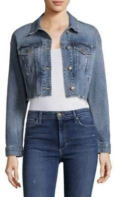Joe's Jeans Taylor Hill x Cropped Denim Jacket