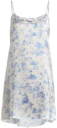 Derek Rose Brindisi 27 silk nightdress