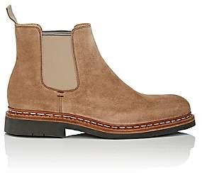 Heschung Men's Tremble Suede Chelsea Boots - Sand