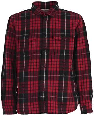 Saint Laurent Checked Shirt