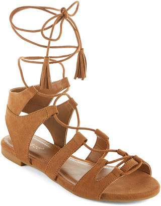 Bamboo Sacred Lace-Up Sandals $19.99 thestylecure.com