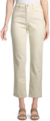 Derek Lam 10 Crosby Leah High-Rise Straight Jeans