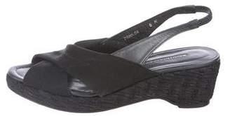 Donald J Pliner Slingback Wedge Sandals