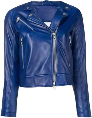 Giorgio Brato cropped biker jacket