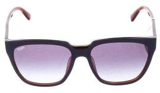 Tod's Gradient Square Sunglasses