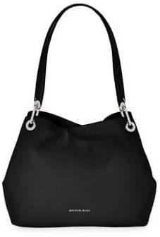 MICHAEL Michael Kors Raven Leather Shoulder Bag