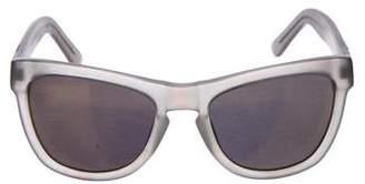 Westward Leaning Westward\\Leaning Wayfarer Mirror Sunglasses
