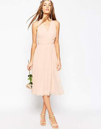 Asos Design Bridesmaid Hollywood Midi Dress