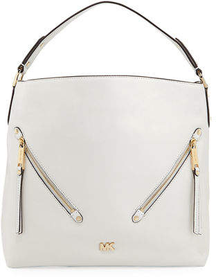 MICHAEL Michael Kors Evie Large Leather Hobo Bag