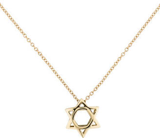 I. Reiss Star Of David Necklace w/ Tags $275 thestylecure.com