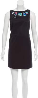 Emilio Pucci Embellished Shift Dress