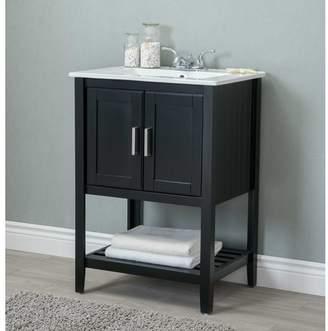 "Andover Mills Reynal 24"" Single Bathroom Vanity Set Base"