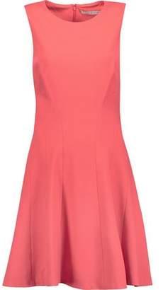 Diane von Furstenberg Citra Fluted Stretch-Crepe Mini Dress