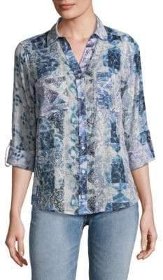 Raga Carly Cotton Button-Down Shirt