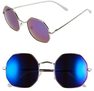 A.J. Morgan 'Otto' 52mm Mirrored Sunglasses $24 thestylecure.com