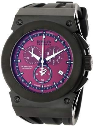 Invicta Men's 5281 Akula Reserve Collection Chronograph Black Rubber Watch