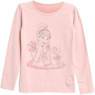 Next Girls Wheat Cinderella Long Sleeve Tee