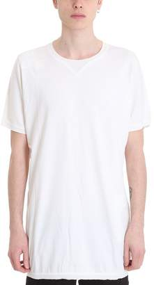 MHI Boto White Cotton T-shirt