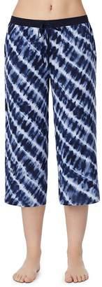 Donna Karan Tie-Dyed Capri Pants