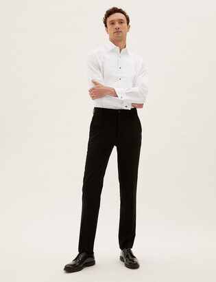 Marks and Spencer Pure Cotton Tailored Fit Dinner Shirt