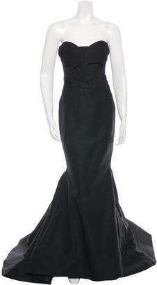 Zac Posen Strapless Evening Gown $725 thestylecure.com
